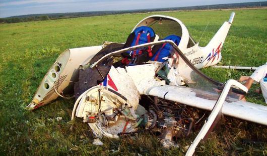 Объявлены причины жесткой посадки самолета под Ижевском в августе 2013 года
