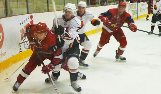 «Ижсталь» не смогла выиграть у пермских хоккеистов в домашней встрече