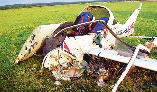 Названы причины жесткой посадки самолета под Ижевском