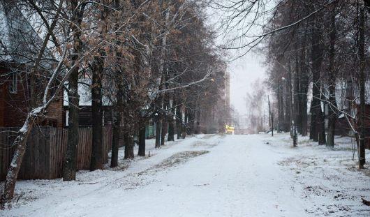 Фотофакт: зима не оправдала надежд ижевчан