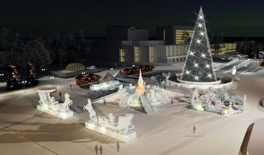 Сити-менеджер Ижевска показал, каким будет главный новогодний городок