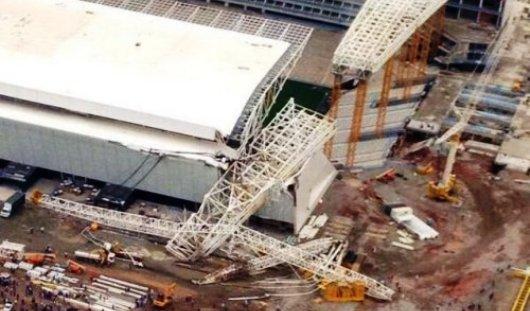 В Бразилии частично обрушился стадион открытия ЧМ-2014 по футболу