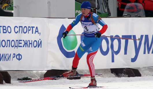 Ижевчанка Валентина Назарова завоевала вторую медаль на Кубке IBU по биатлону