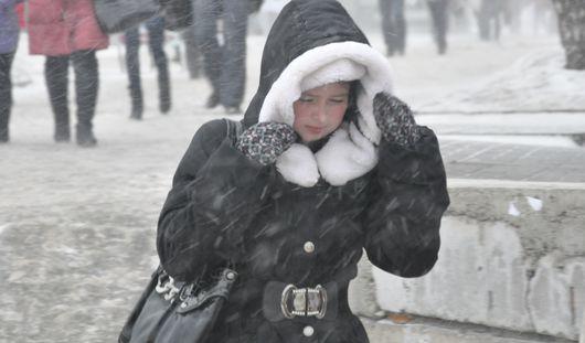 Первую неделю декабря горожан ожидают снегопады и похолодание до -17 градусов