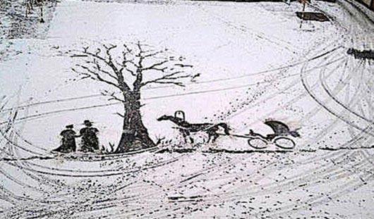 Художник по снегу и 3 легковушки в лоб: о чем говорят этим утром в Ижевске