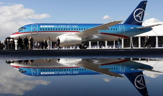 В Челябинске вынужденно сел авиалайнер «Суперджет»