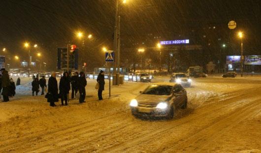 6 декабря гаишники рекомендуют ижевским водителям снизить скорость на 20 км/ч