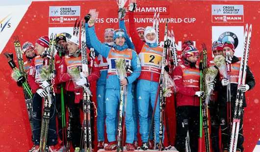 Лыжники из Удмуртии одержали победу в Лиллехаммере