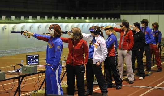 Фотофакт: в Ижевске завершился Кубок России по стрельбе из пневматического оружия на дистанции 10 метров