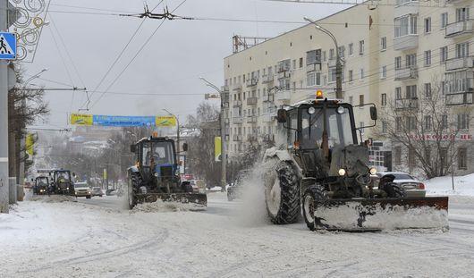 В первые 10 дней декабря  в  Удмуртии выпало снега в два раза больше нормы