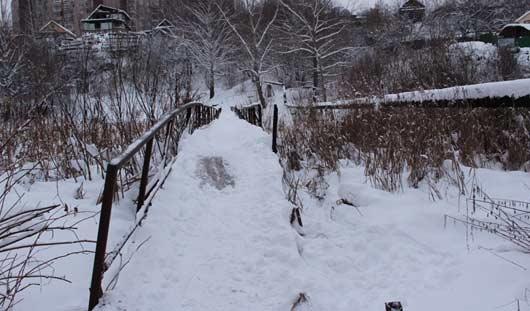 Отремонтируют ли мост от городка Металлургов в Ижевске?