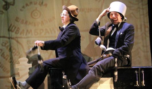 На премьере в ижевском театре отбивали чечетку и стояли на головах