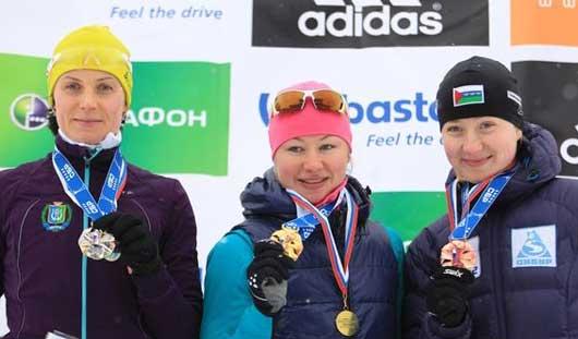 Представительница Новосибирской области выиграла индивидуальную гонку на «Ижевской винтовке»