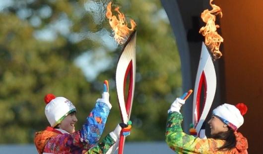 Факелоносцы олимпийского огня в Ижевске смогут купить факел за 13 тысяч рублей