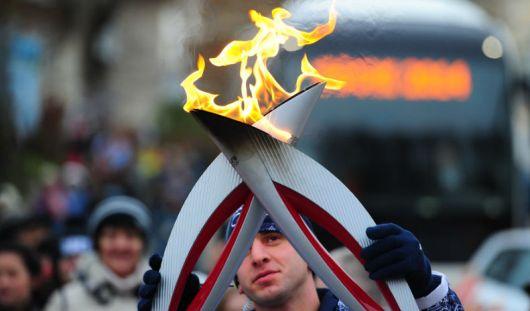 Чашу с олимпийским огнем в Ижевске  потушат 2 января в 8 часов вечера