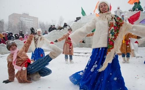 В Ижевске фестиваль «Вместе теплее» открыли с олимпийским размахом