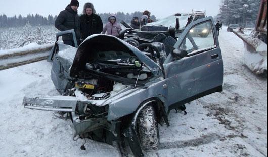 2 человека погибли в серьезной аварии на трассе Ижевск-Сарапул