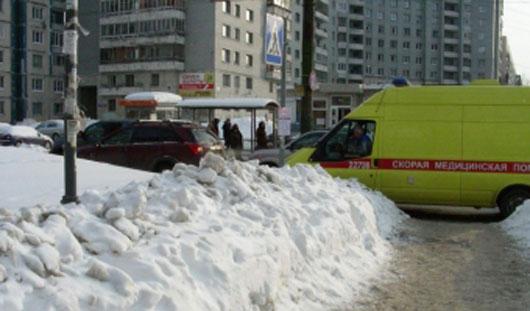 В Ижевске на переходе «нексия» сбила пешехода