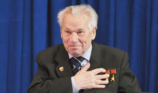 Михаил Калашников: «Я доволен пройденным путем»