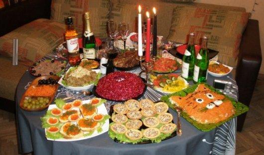 Новогодний стол обойдется семье из Удмуртии в среднем в 1634 рубля