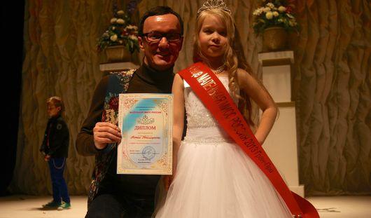 6-летняя ижевчанка стала вице-мисс «Маленькая Россия»