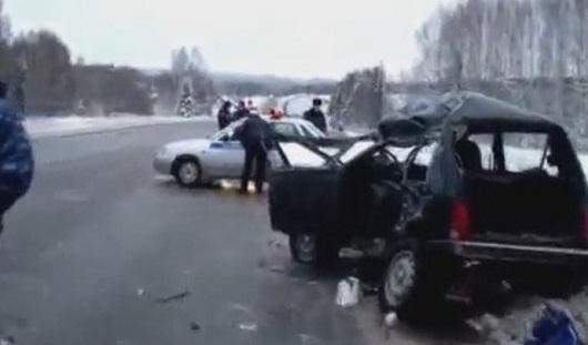 Два жителя Удмуртии погибли в ДТП в Пермском крае