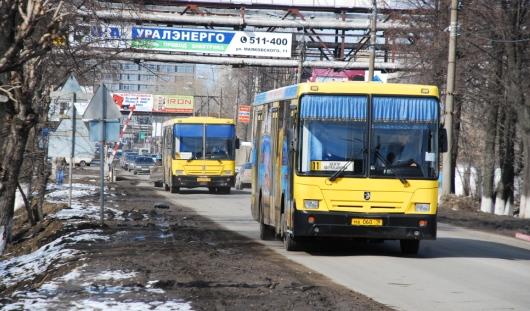 В январские каникулы в Ижевске не будут работать несколько автобусных маршрутов