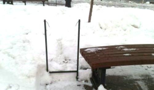 Фотофакт: на Набережной Ижевска пропали все мульды