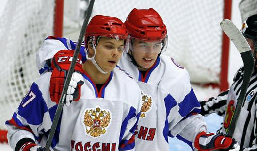 Молодежная сборная России по хоккею вышла в полуфинал Чемпионата мира