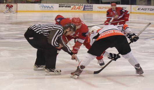 Ижевские хоккеисты одержали волевую победу над ХК «Ермак»