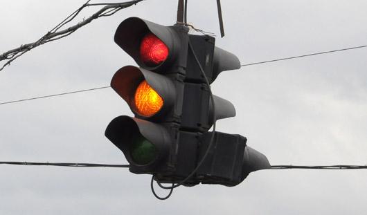 На Азина-Областной и Азина-Ново-Ажимова в Ижевске не работают светофоры