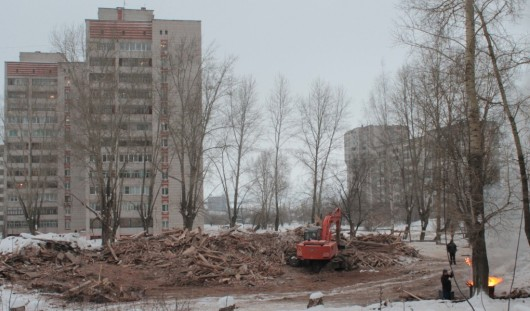 Почему в Ижевске снесли здание бывшей школы на Баранова, 70?