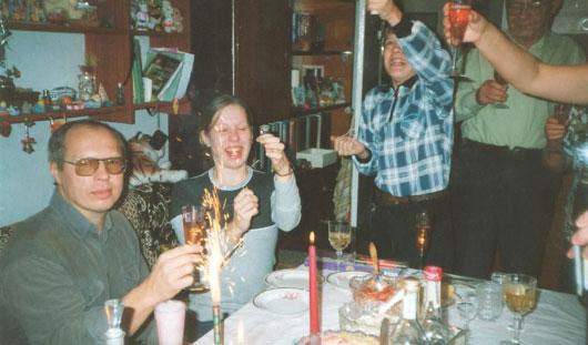 Как ижевчане отмечали Новый год 15 лет назад