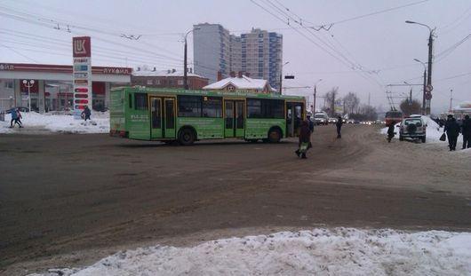 В Ижевске автобус сбил пожилую женщину