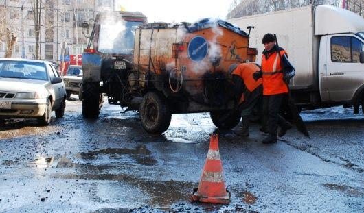 Ижевск получит 230 миллионов рублей на ремонт дорог в 2014 году