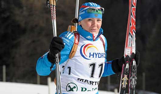 На шестом этапе Кубка мира по биатлону снова выступит Валентина Назарова из Удмуртии