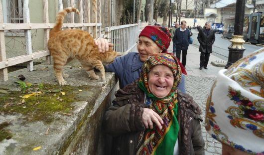 «Бурановские бабушки» из Удмуртии спели песню для Олимпиады в Сочи