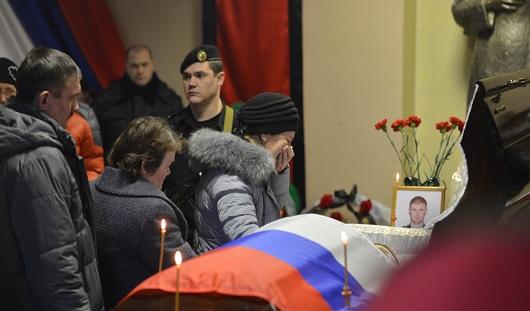 Ижевск простился с Петром Шиховым, полицейским, погибшим в Дагестане