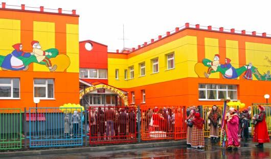42 детских сада-школы построены в Удмуртии