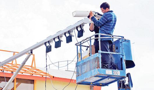 К концу года в Ижевске видеокамеры заработают на 30 перекрестках