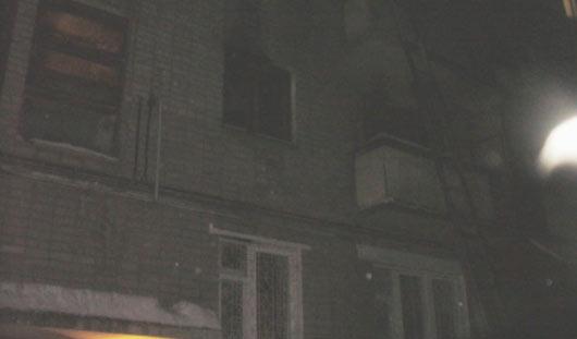 В Ижевске при пожаре погиб человек