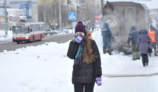 Как Ижевск переживает 30-градусные морозы и будет ли побит рекорд 80-летней давности