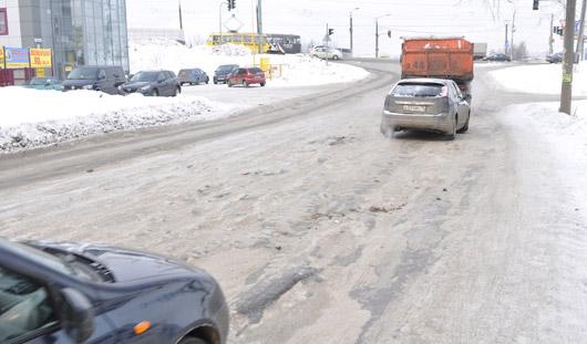 Мороз в Ижевске: почему дорожники не борются с гололедом?