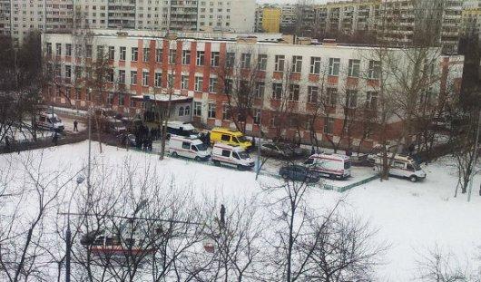 Все заложники в московской школе освобождены, преступник обезврежен