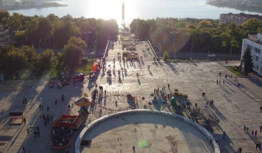 В Ижевске представят финальный вариант обновленной Центральной площади