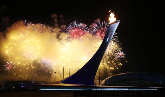 Самые интересные моменты церемонии открытия Олимпиады в Сочи