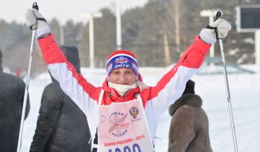 Двойник Кулаковой и тройной старт: в Ижевске прошел первый день «Лыжни России-2014»