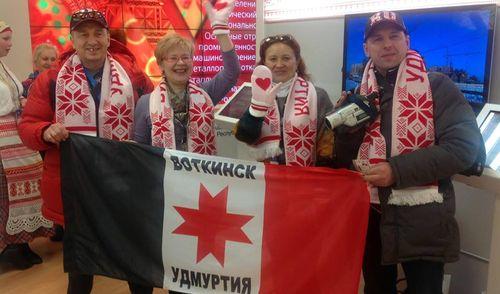 Фотофакт: экспозиция Удмуртии открылась в Олимпийском парке Сочи