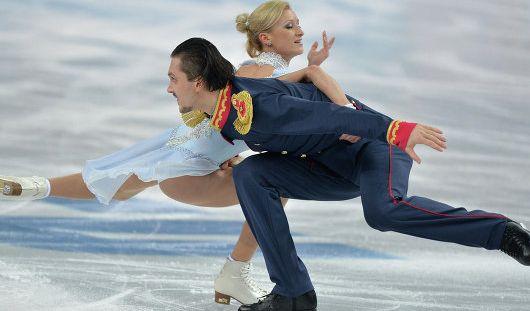 Фигуристы Волосожар и Траньков побили мировой рекорд  на Олимпиаде в Сочи
