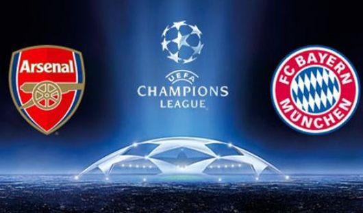 Арсенал и Бавария сыграют в 1/8 финала Лиги Чемпионов